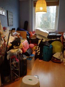 Opruimen slaapkamer
