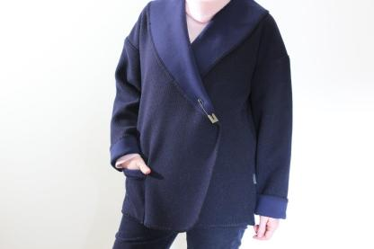 Cardi Navy front 2