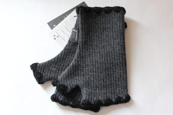 Cardi Charcoal Black trim