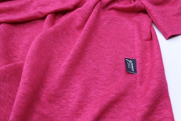 goomo.shop_cerise pure linen short sleeve top