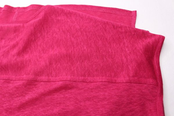 goomo.shop_pure linen cerise extended shoulder tank top