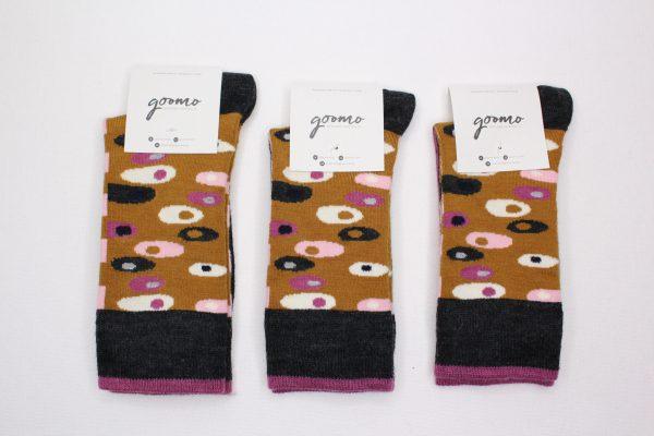 goomo.shop_Egg Ochre superfine Australian Merino socks