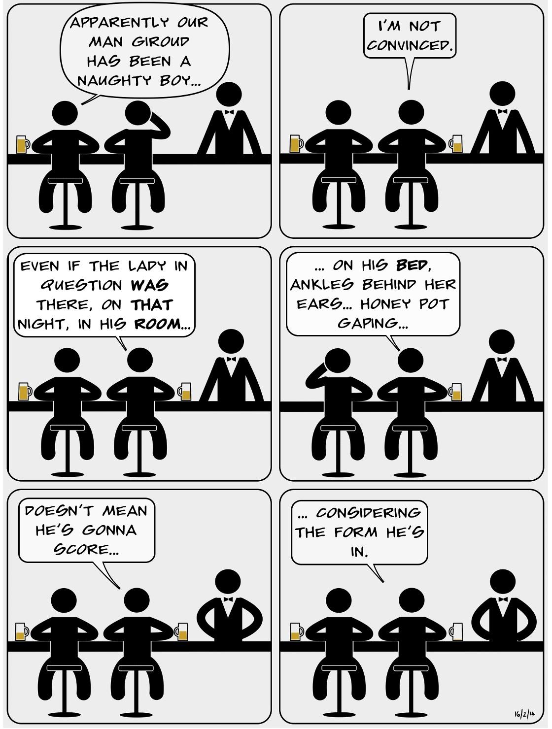 GOONBOGGLE An Arsenal comic by Batmandela 008 - Score