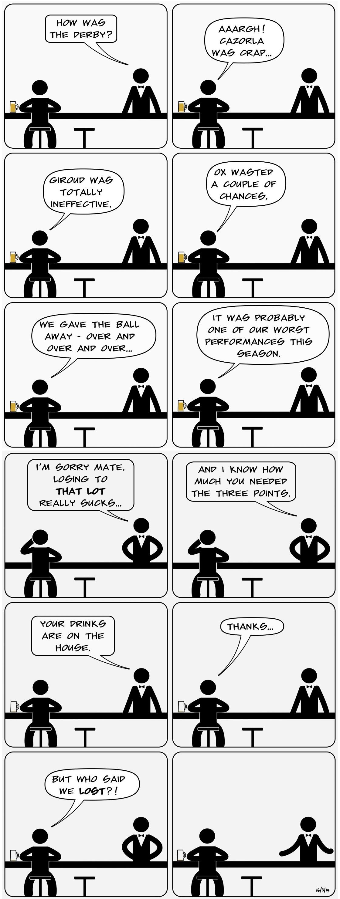GOONBOGGLE An Arsenal comic by Batmandela 016 - NLD