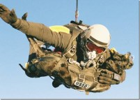 Jumping from more than 30,100 feet up - the altitude transoceanic