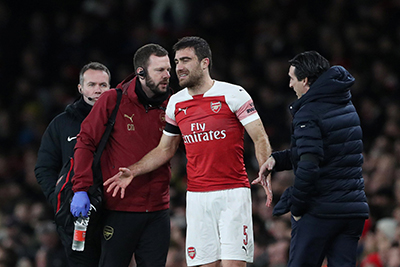 Arsenal Given Massive Injury Boost Ahead Of Europa League Knockout Round Tie