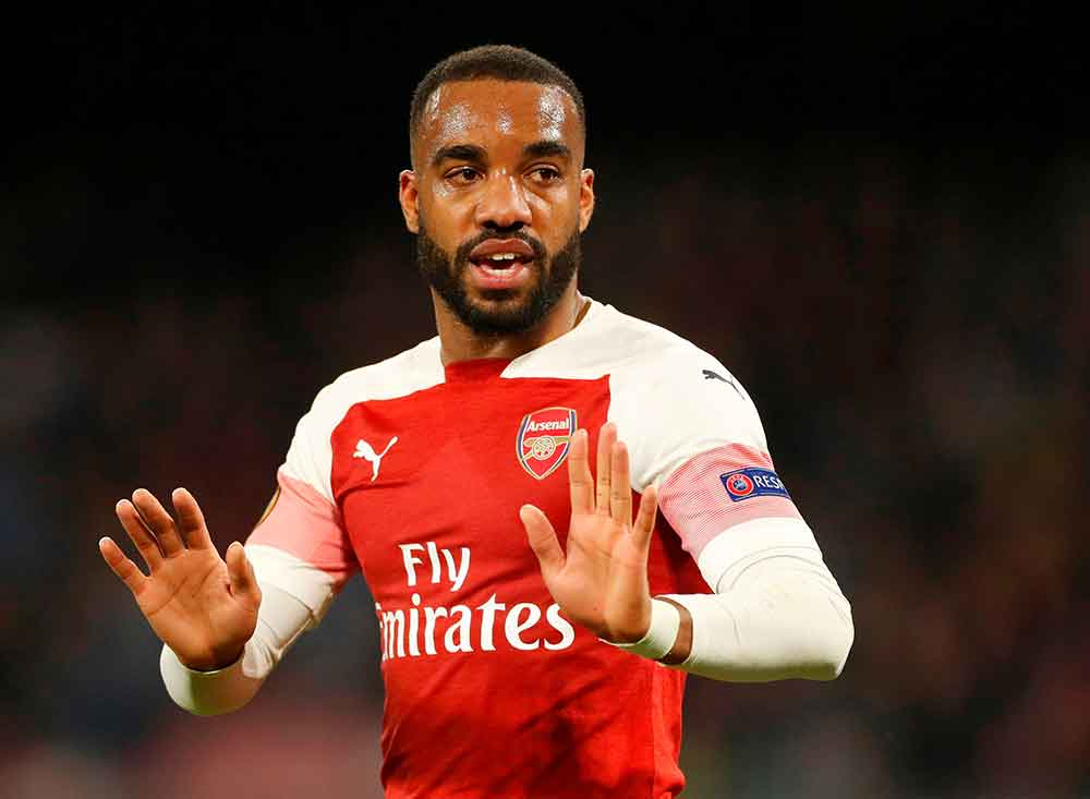 Emery Provides Injury Update On Lacazette After Arsenal Striker Was Subbed In Derby Draw