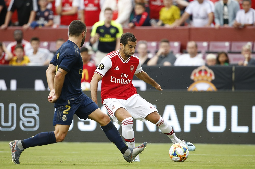 Mkhitaryan And Luiz To Start, Pepe And Ceballos On The Bench: Arsenal's Predicted XI To Face Newcastle