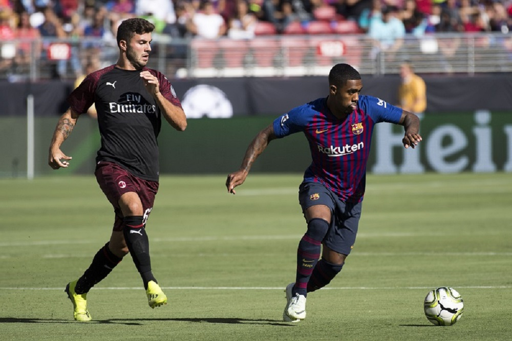 Three Reasons Why Barca Speedster Would Be A Downgrade On Zaha For Arsenal