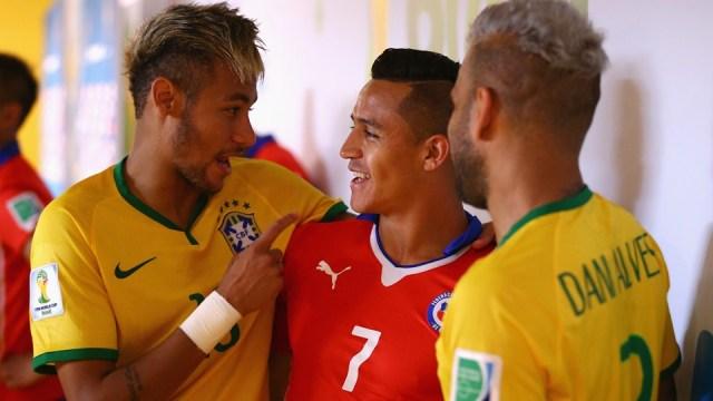 Neymar and Alexis