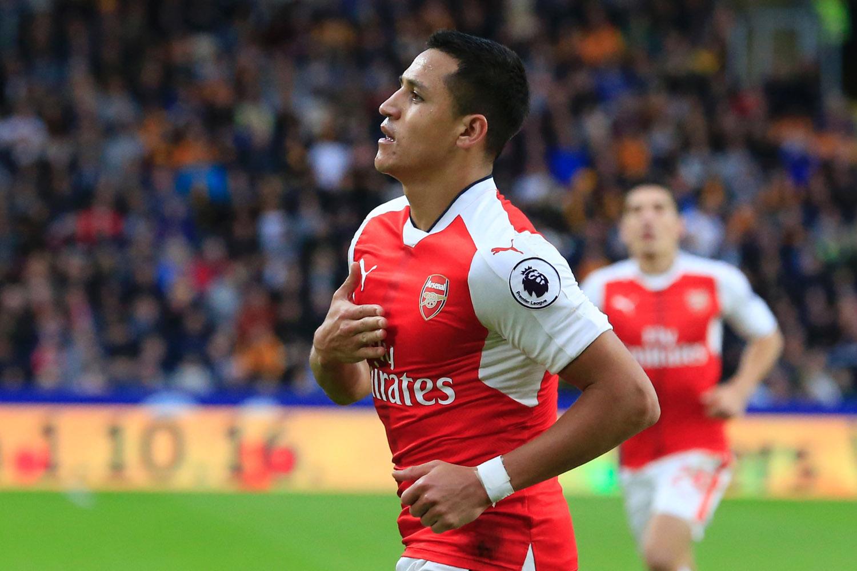 Alexis Sanchez Arsenal s new striker