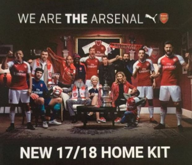 Leaked Promo For Arsenals New Shirt Hints At Ozil And Sanchezs Future