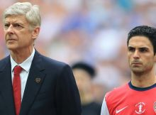 Arsene Wenger comes out in support of Mikel Arteta