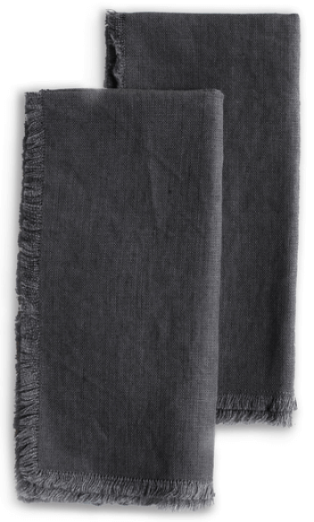 Roman and Williams Guild Flax Linen Napkin, Set of 2