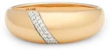 goop x Mejuri Pavé Diamond Dôme Ring
