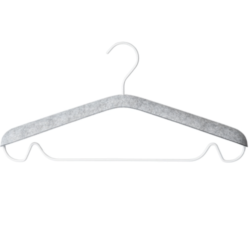 Open Space Clothes Hangers, set of 10