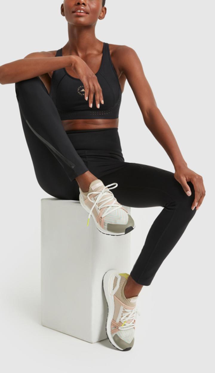 woman in Adidas by Stella McCartney