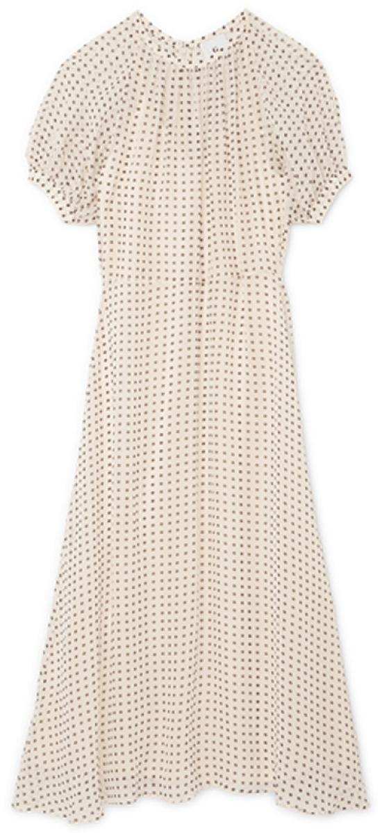 G. Label Thompson Puff-Sleeve Dress, goop, $650