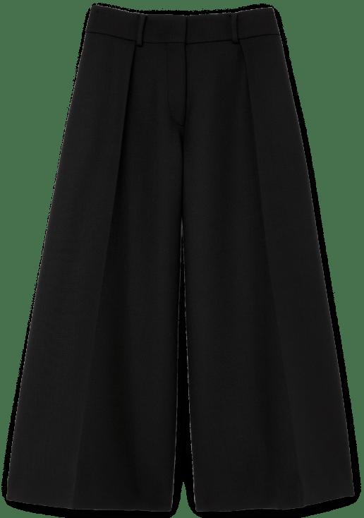 G. Label Caleb Wide-Leg Pleated Culottes goop, $495