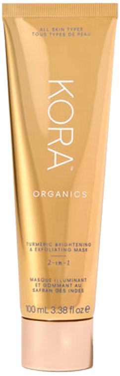 KORA Organics Turmeric Brightening & Exfoliating Mask, goop, $48