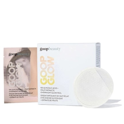 goopglow 15% GLYCOLIC ACID + FRUIT EXTRACTS OVERNIGHT GLOW PEEL