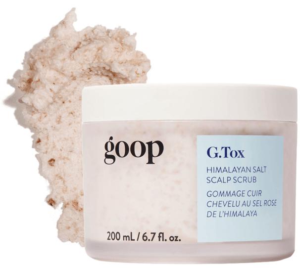 goop Beauty G.Tox Himalayan Salt Scalp Scrub Shampoo, goop, $42