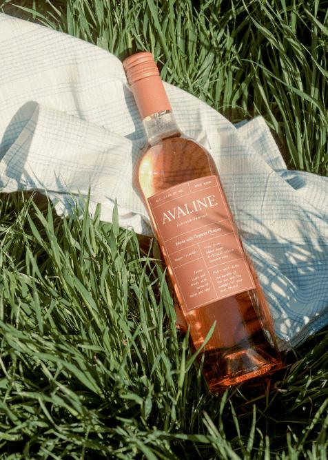 Avaline rose wine