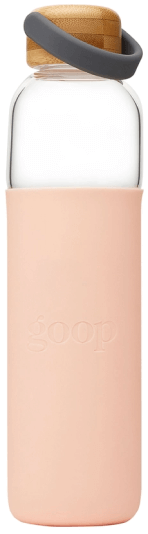 GOOP GLASS WATER BOTTLE, 25 OZ