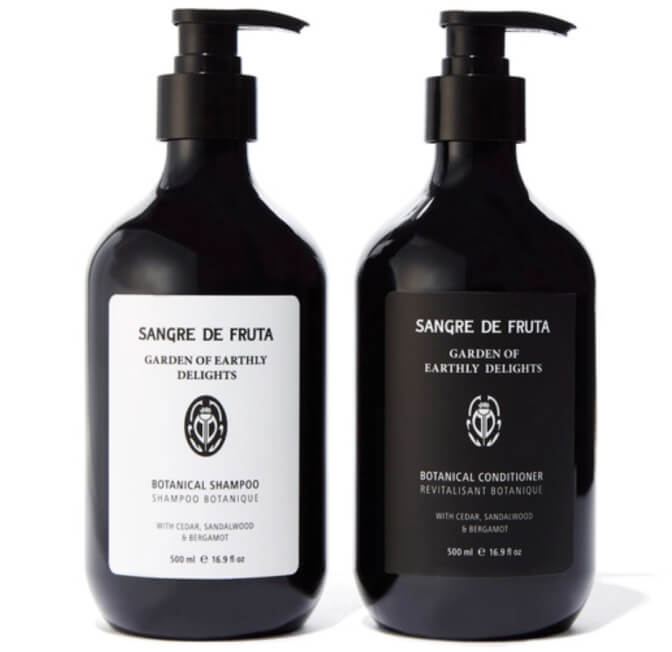 Sange de Fruta Garden of Earthly Delights Botanical Shampoo & Conditioner