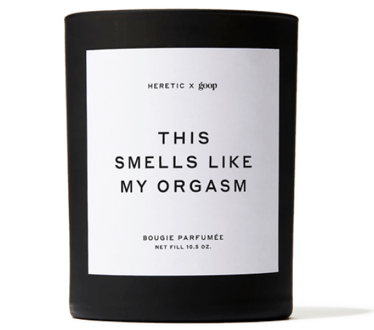 goop x Heretic This Smells Like My Orgasm Candle