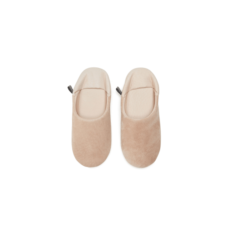 Morihata WASHABLE LEATHER ROOM SHOES SLIPPERS