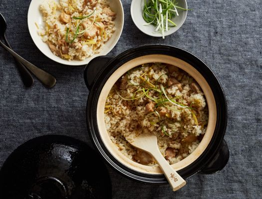 Donabe Ginger Rice with Chicken