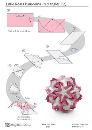 tutorial link | An Origami a Day