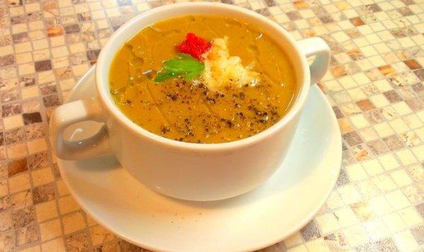 Простой Рецепт суп-пюре из запеченных баклажанов пошагово ...