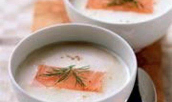 Простой Рецепт быстрого суп-пюре из копченой форели ...