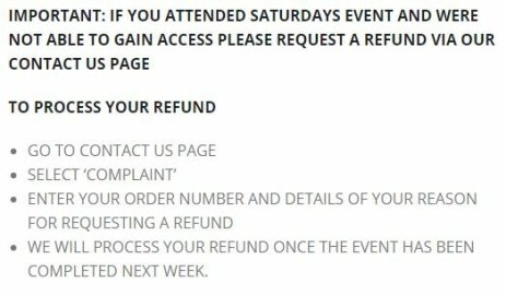gamercon refund policy