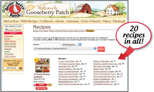 Review A Recipe And You Could Win!