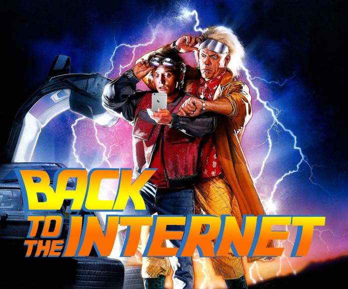 back to the internet 2007