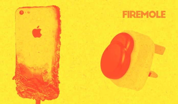 firemole fire safety gadget