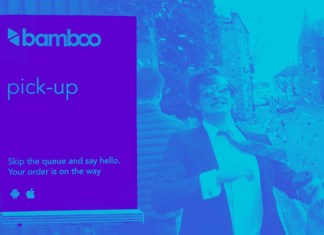 bamboo app helps save time on lunch
