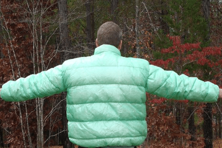 VEST WITH REMOVABLE SLEEVES
