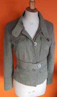 Vintage legergroen jasje Vero Moda,goosvintage