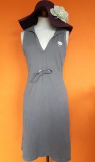 Vintage grijze katoenen jurk Marc O'Polo maat S/M,Goosvintage