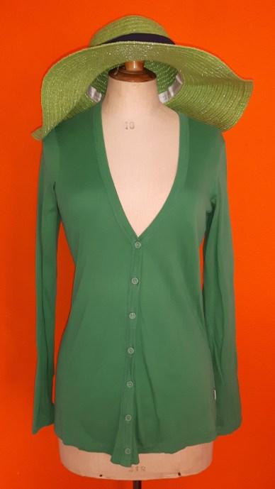 Vintage groen vestje Sissy Boy maat M,Goosvintage