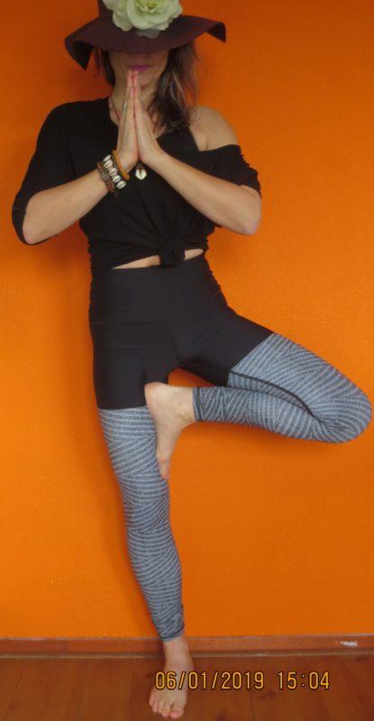 Yoga Democracy cozie rosie urban active yoga legging maat S,Goosvintage