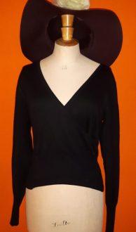 Vintage zwarte korte trui Marc O'Polo maat L,Goosvintage