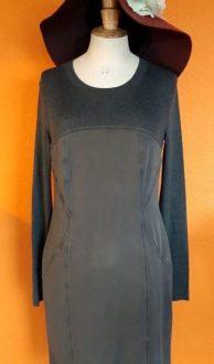 grijze jurk Marccain N3,Goosvintage