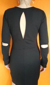Vintage zwarte jurk Modström M,Goosvintage