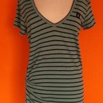 groene linnen jurk Amator maat M/L,Goosvintage