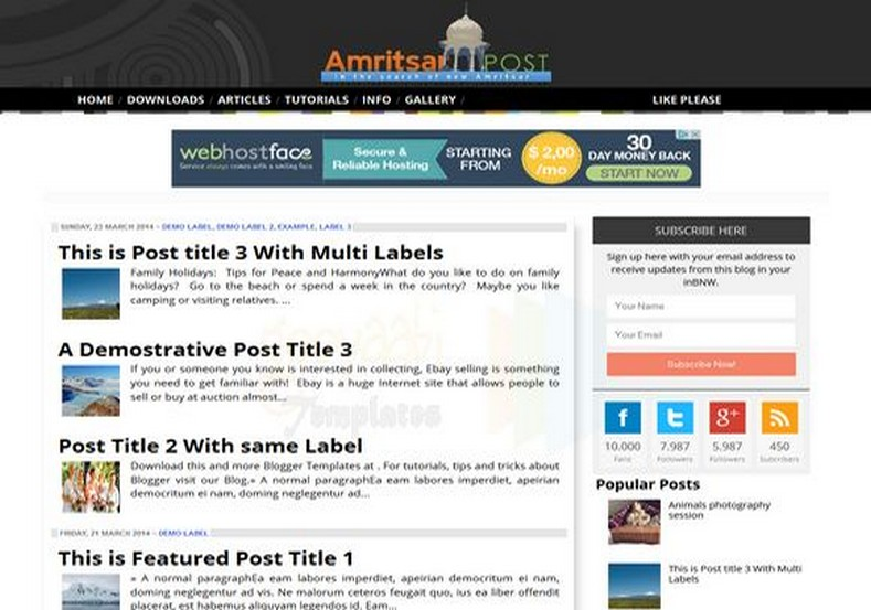 Amritsar Post Blogger Template. Free Blogger templates. Blog templates. Template blogger, professional blogger templates free. blogspot themes, blog templates. Template blogger. blogspot templates 2013. template blogger 2013, templates para blogger, soccer blogger, blog templates blogger, blogger news templates. templates para blogspot. Templates free blogger blog templates. Download 1 column, 2 column. 2 columns, 3 column, 3 columns blog templates. Free Blogger templates, template blogger. 4 column templates Blog templates. Free Blogger templates free. Template blogger, blog templates. Download Ads ready, adapted from WordPress template blogger. blog templates Abstract, dark colors. Blog templates magazine, Elegant, grunge, fresh, web2.0 template blogger. Minimalist, rounded corners blog templates. Download templates Gallery, vintage, textured, vector, Simple floral. Free premium, clean, 3d templates. Anime, animals download. Free Art book, cars, cartoons, city, computers. Free Download Culture desktop family fantasy fashion templates download blog templates. Food and drink, games, gadgets, geometric blog templates. Girls, home internet health love music movies kids blog templates. Blogger download blog templates Interior, nature, neutral. Free News online store online shopping online shopping store. Free Blogger templates free template blogger, blog templates. Free download People personal, personal pages template blogger. Software space science video unique business templates download template blogger. Education entertainment photography sport travel cars and motorsports. St valentine Christmas Halloween template blogger. Download Slideshow slider, tabs tapped widget ready template blogger. Email subscription widget ready social bookmark ready post thumbnails under construction custom navbar template blogger. Free download Seo ready. Free download Footer columns, 3 columns footer, 4columns footer. Download Login ready, login support template blogger. Drop down me